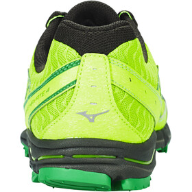 Mizuno Wave Hayate 4 Shoes Men Green Gecko/White/Forest Night